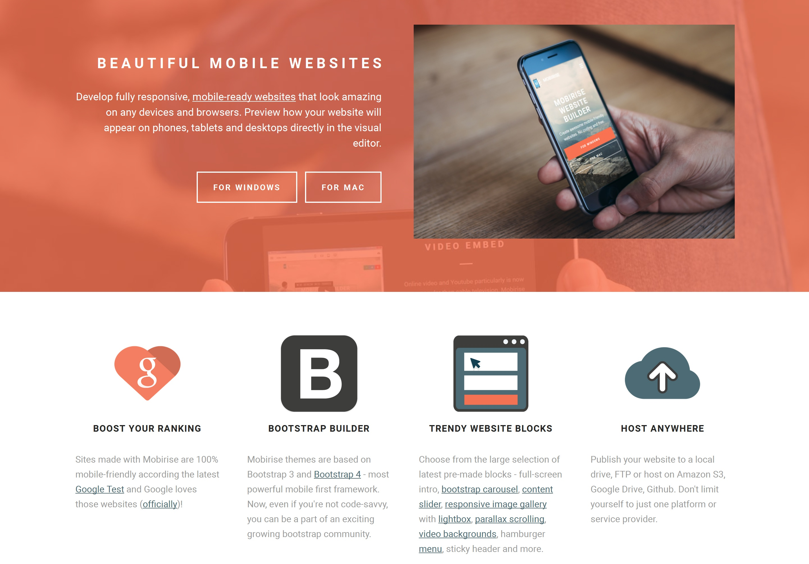 Responsive Mobile Website Maker Software